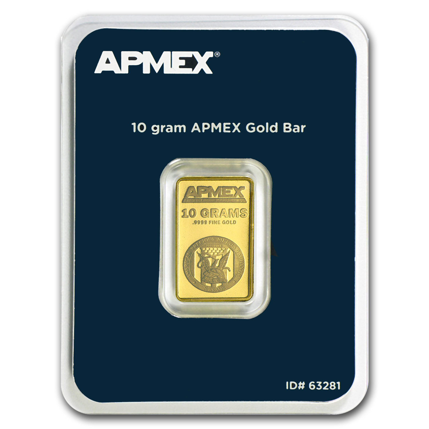 10 gram Gold Bar - APMEX (In TEP Package)